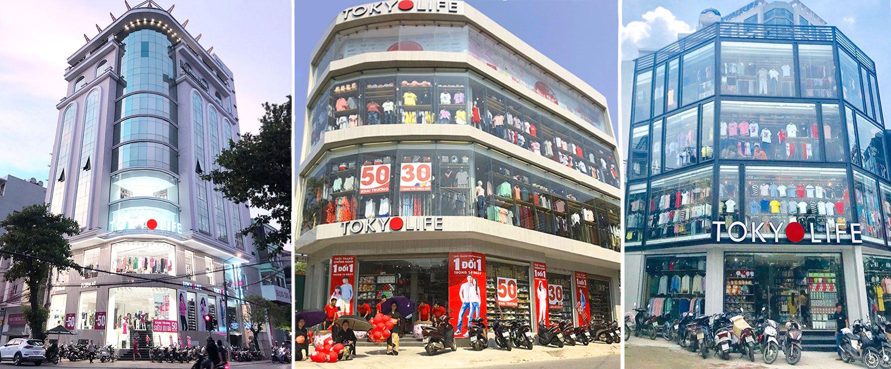 Hệ thống cửa hàng của TokyoLife trải dài khắp cả nước với các vị trí dễ tìm