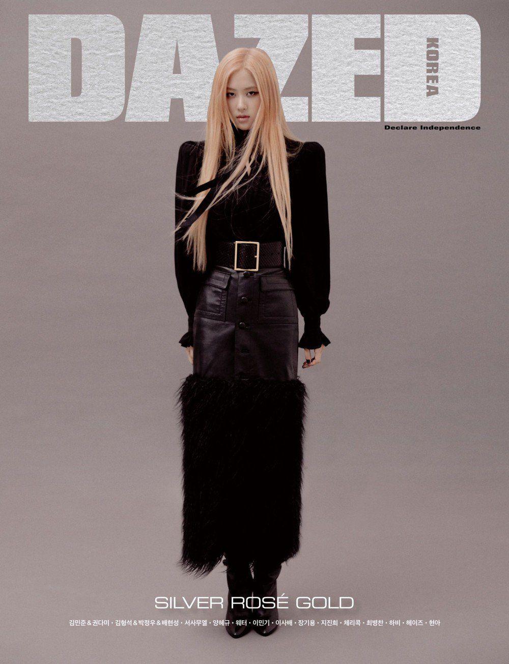 Rose xuất hiện đầy cá tính trên trang bìa tạp chí Dazed
