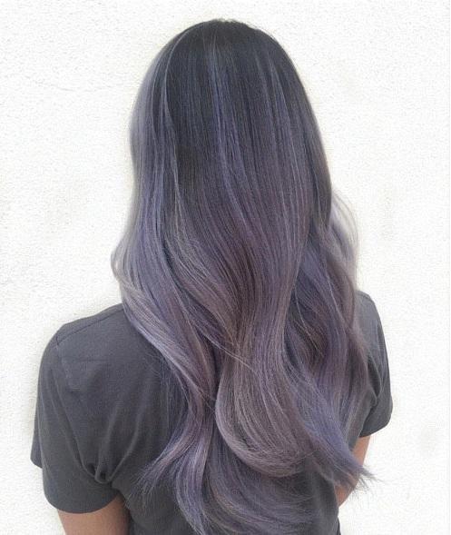 Tóc màu xám khói - Lựa chọn hoàn mỹ cho những cô nàng cá tính