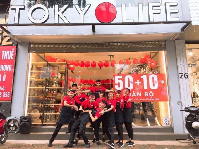 Thương hiệu TokyoLife đang ngày càng nổi tiếng tại Việt Nam