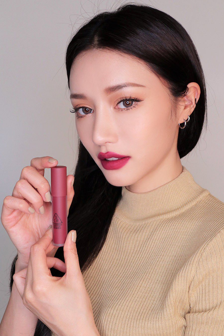 3CE Soft Lip Lacquer Midnight Bottle