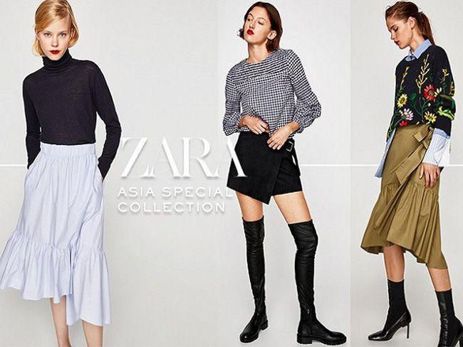 Các bộ sưu tập của Zara luôn rất bắt trend và hợp xu hướng