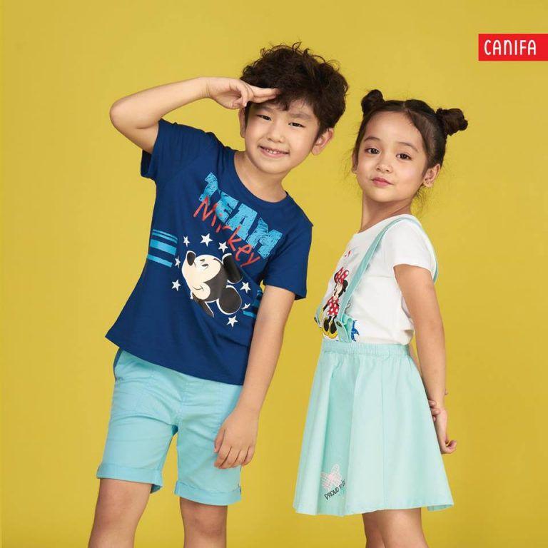 Dòng sản phẩm Canifa Kids của Canifa rất nổi tiếng