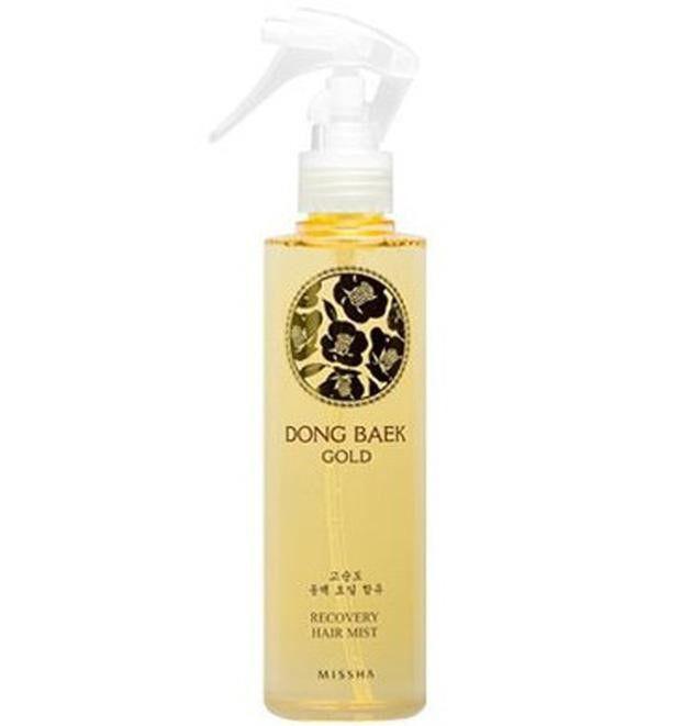 Missha Premium DongBaek Gold Recovery Hair Mist