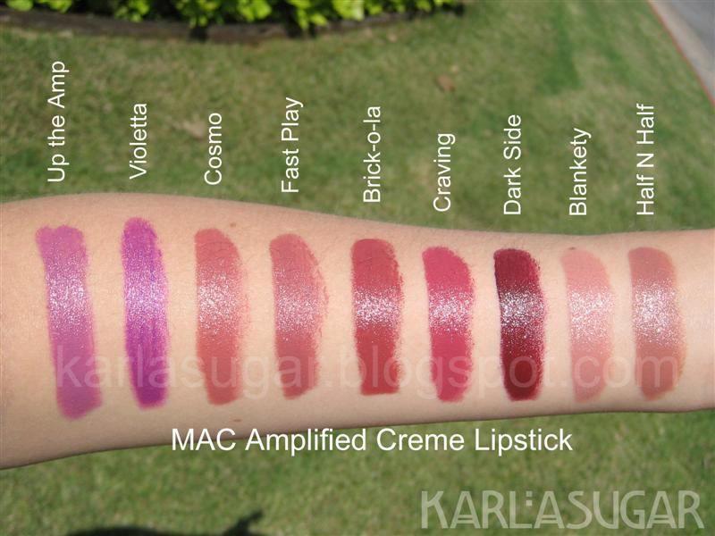 Son Mac Amplified Creme Lipstick