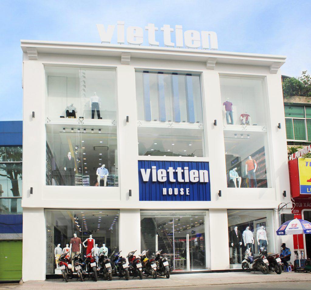 Viettien house có hệ thống cửa hàng trải rộng khắp cả nước