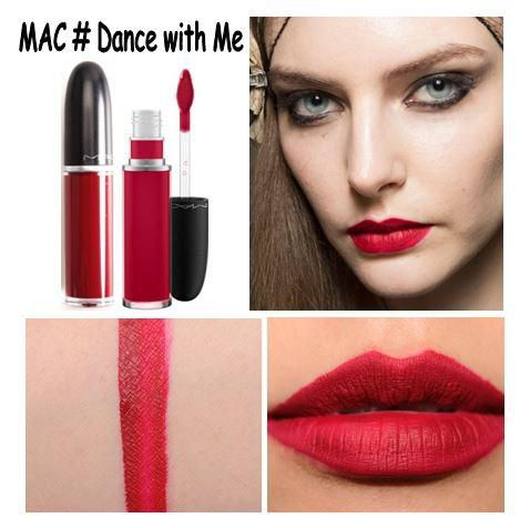 bảng màu son Mac Dance With Me