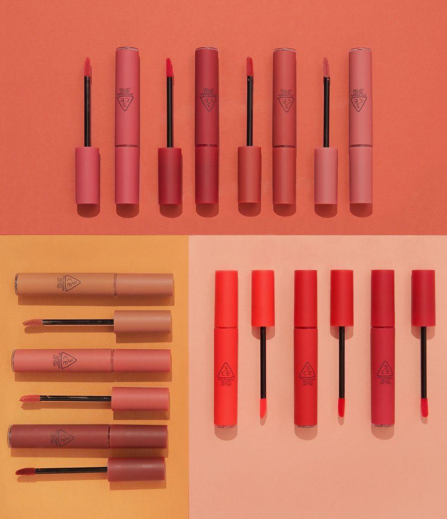 Thiết kế vỏ ngoài của dòng son 3CE Velvet Lip Tint