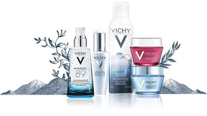 Vichy cung cấp các dòng sản phẩm rất đa dạng