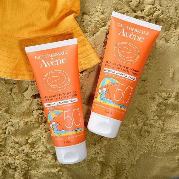 Kem chống nắng Avene cho trẻ em