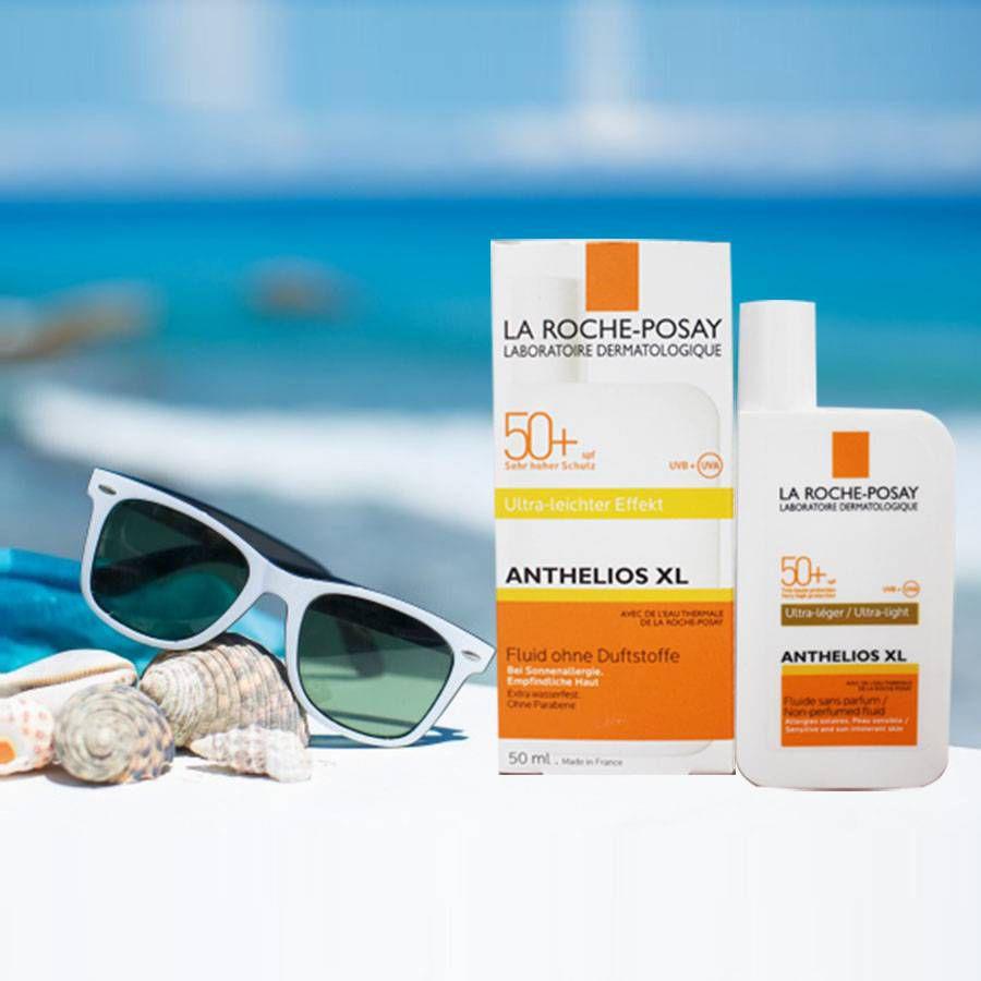 Kem chống nắng La Roche Posay Anthelios XL Fluid Ultra-Light SPF 50+ (dành cho mọi loại da)
