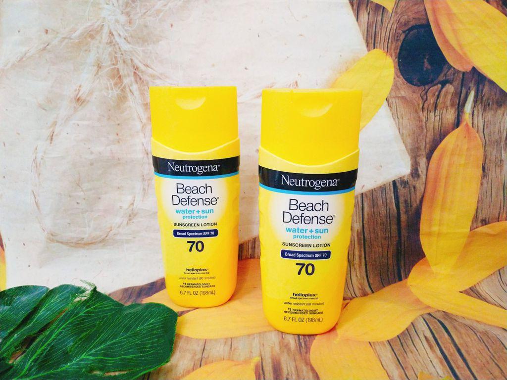 Kem chống nắng Neutrogena Beach Defense SPF 70 (dành cho đi biển)