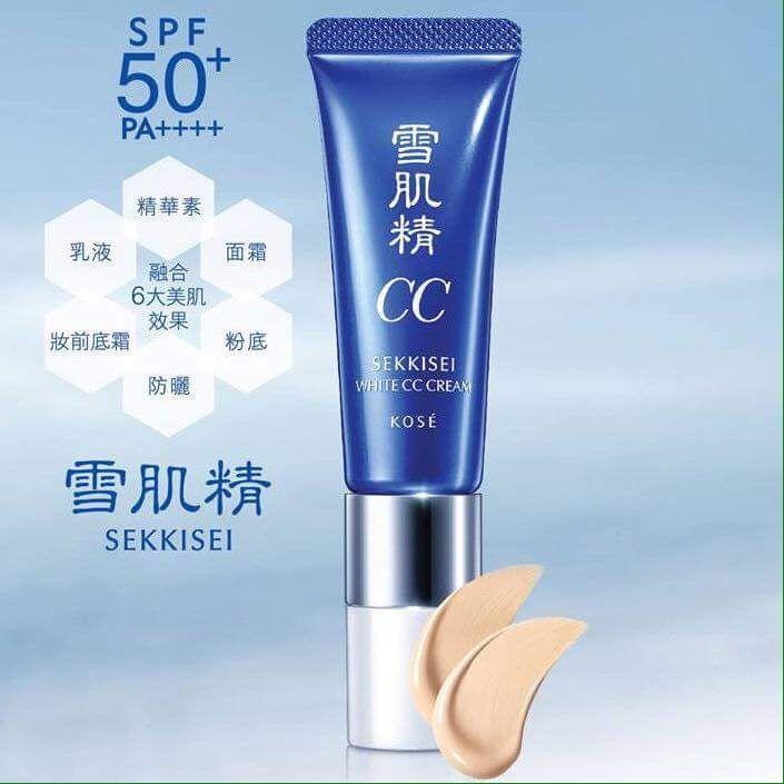 kem chống nắng kose CC cream