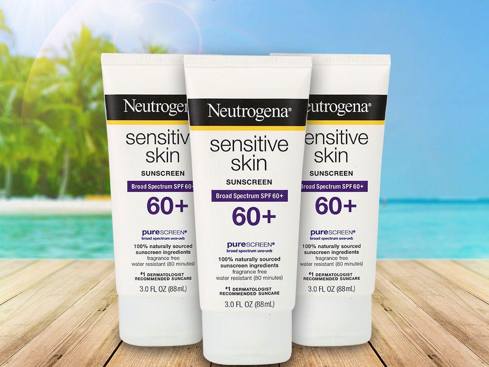 Kem chống nắng Neutrogena da nhạy cảm
