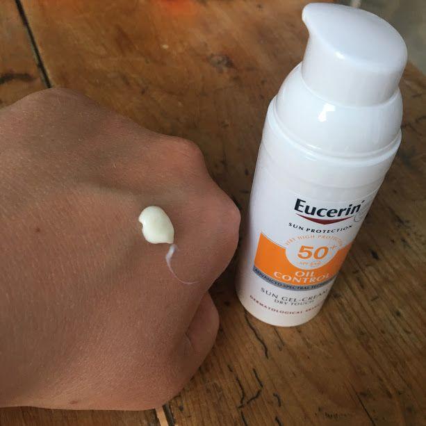 Eucerin Sun Gel Cream Oil Control review