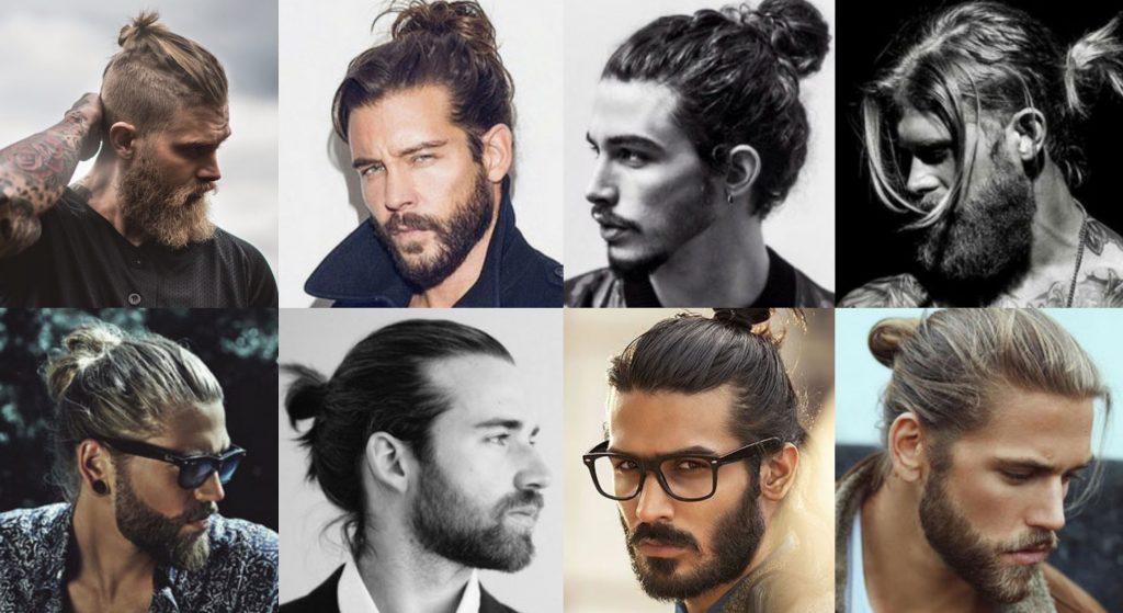 Tóc man bun là kiểu tóc khá dài, búi hoặc buộc ở đằng sau