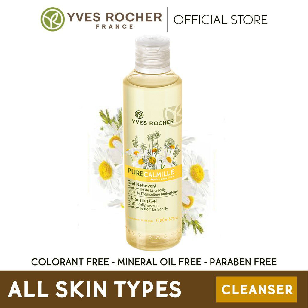 Yves Rocher Pure Calmille Cleansing Gel