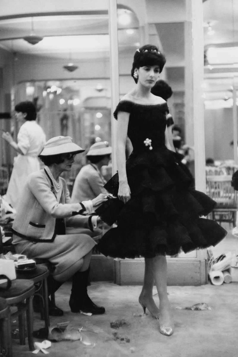 coco chanel little black dress