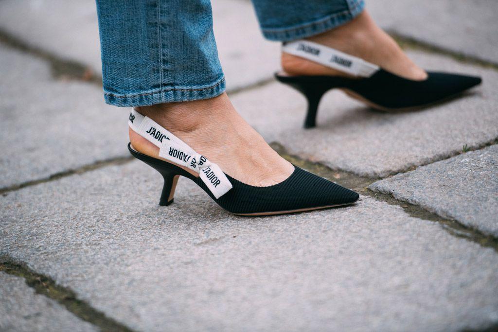 dior high heel