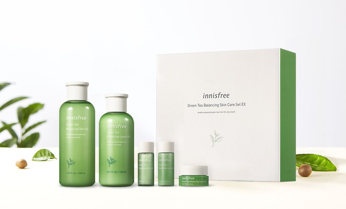 Innisfree nổi tiếng với các sản phẩm dưỡng da có nguồn gốc thiên nhiên