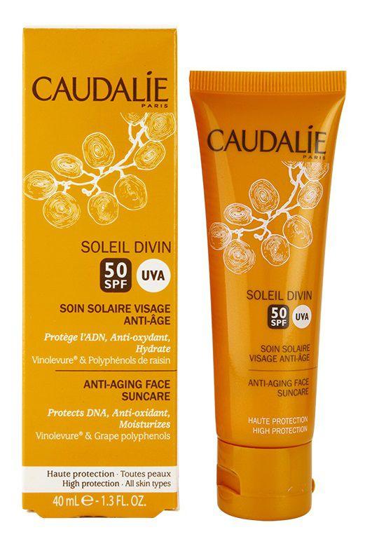 Kem chống nắng Caudalie Soleil Divin Anti-Ageing Face Suncare SPF 50