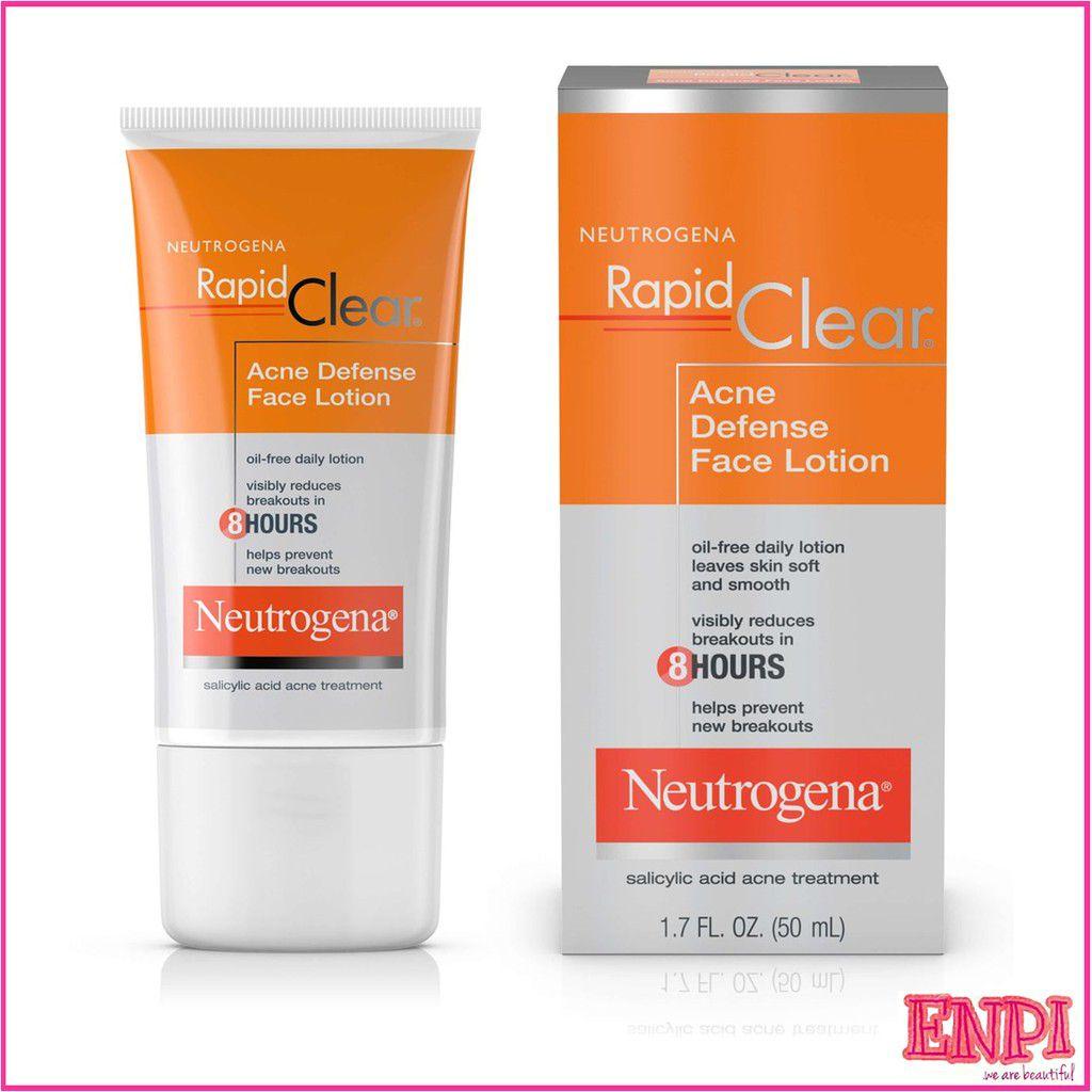Kem trị mụn Neutrogena Rapid Clear