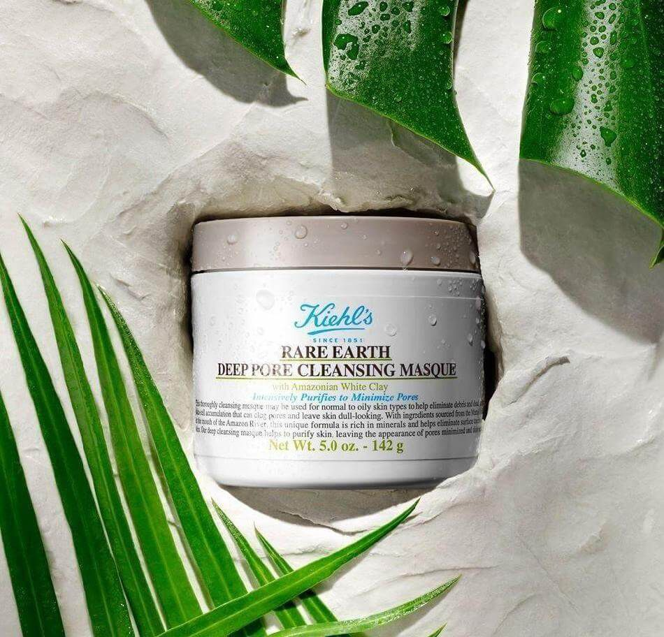 Kiehls Rare Earth Deep Pore Cleansing Masque