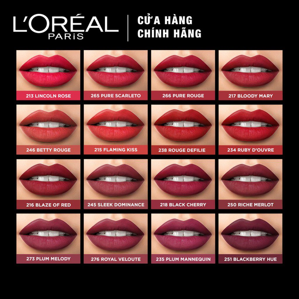 Son môi Loreal Paris Color Riche Matte