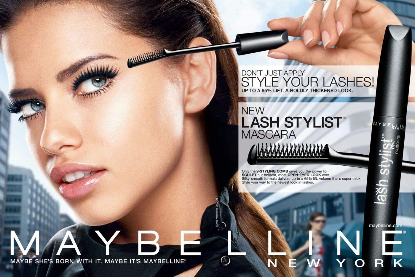 Trang điểm mắt Maybelline