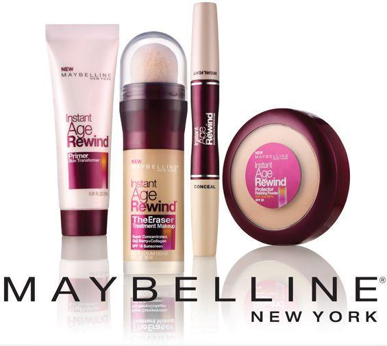 Trang điểm mặt Maybelline
