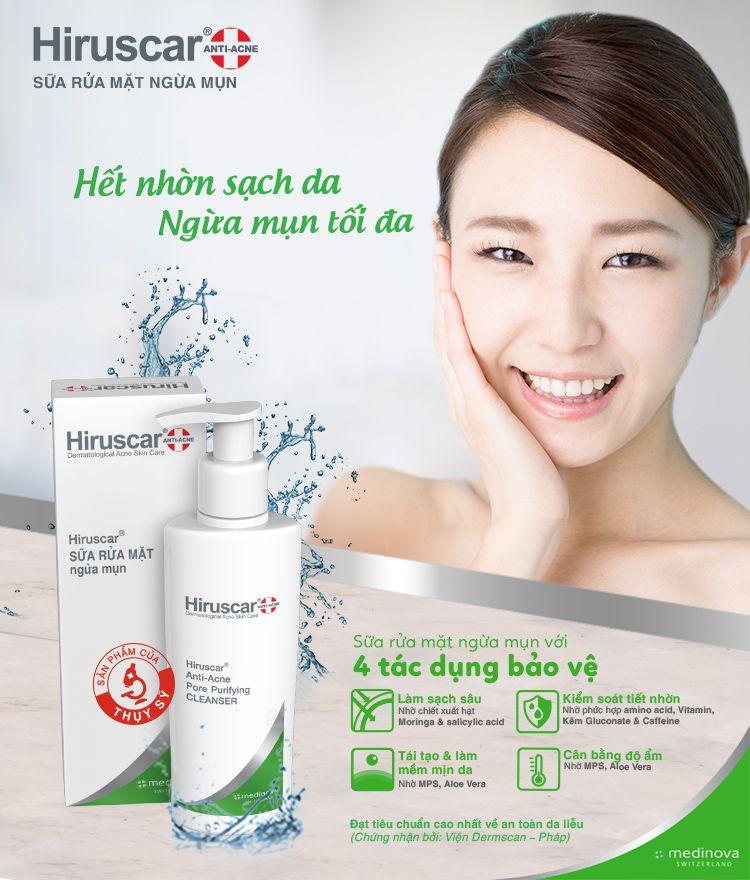 Sữa rửa mặt ngăn ngừa mụn Anti Acne Cleanser