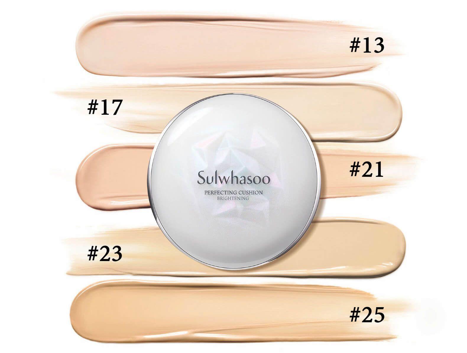 Phấn nước Sulwhasoo Perfecting Cushion Brightening SPF 50+/PA+++