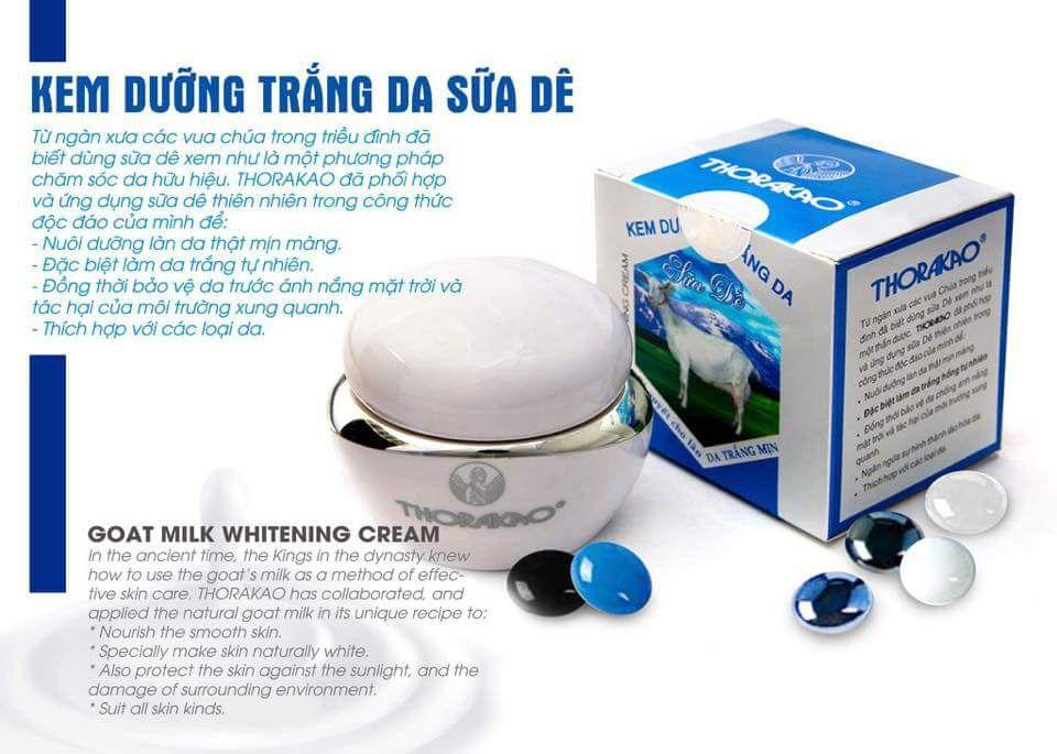 Kem dưỡng da sữa dê Thorakao