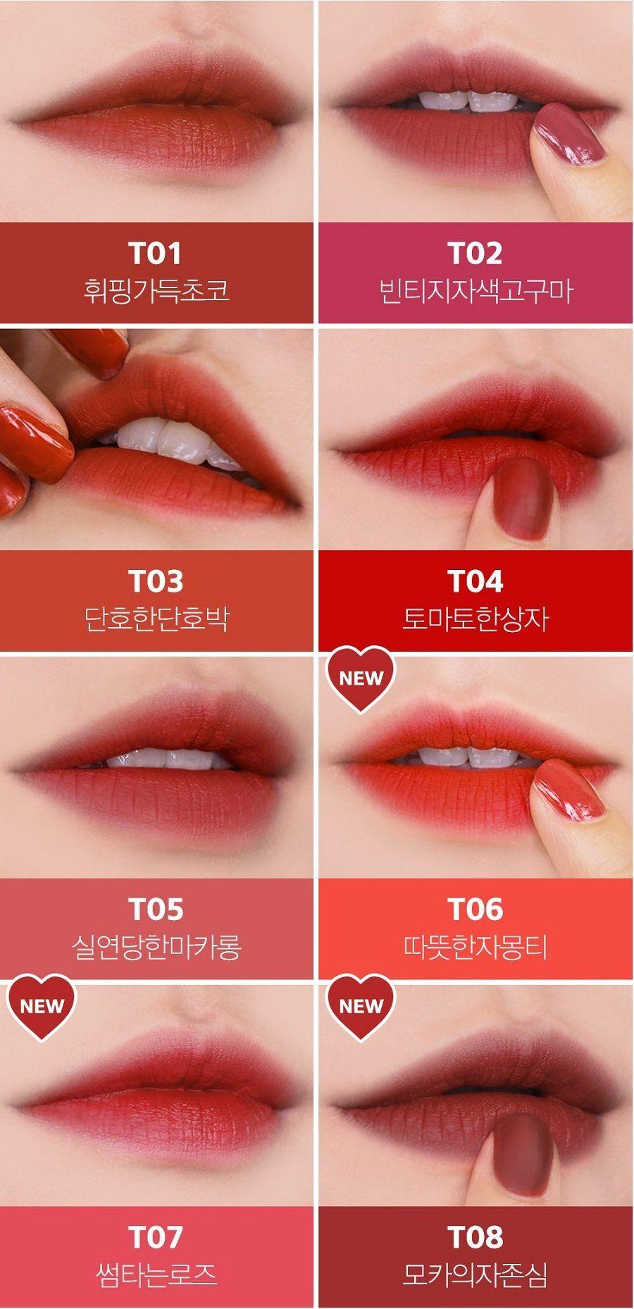 Bảng màu son Black Rouge Cotton Lip Color