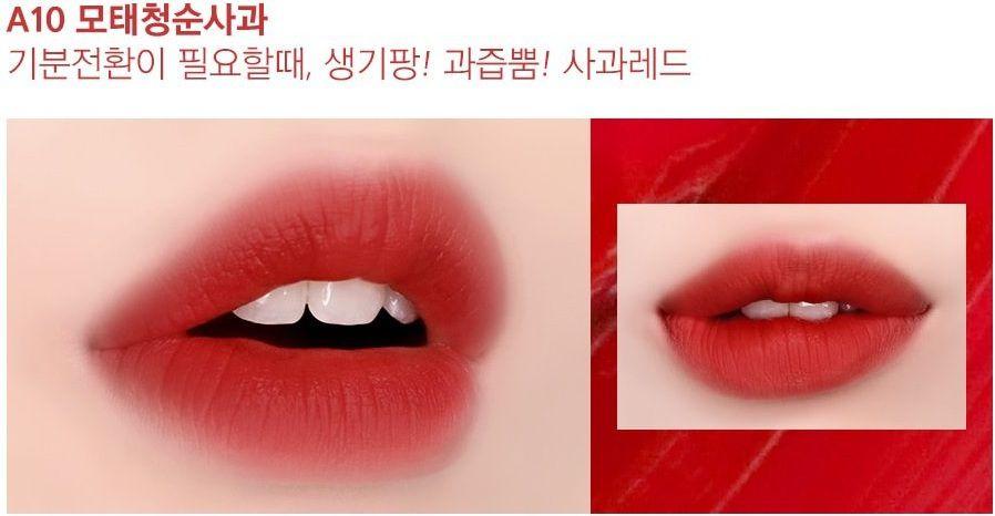 Son Black Rouge Ver 2 A10 Red Berry màu Đỏ hồng nâu