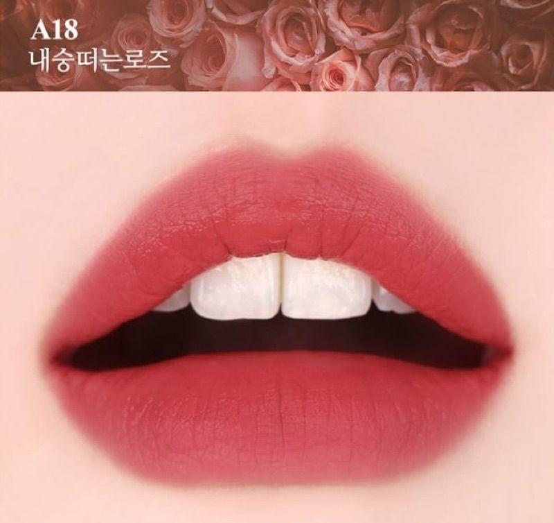 Màu son Black Rouge A18 Coy Rose - Hồng đất