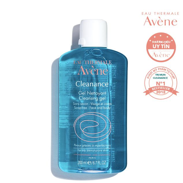 Sữa rửa mặt Avene cho da nhạy cảm 2