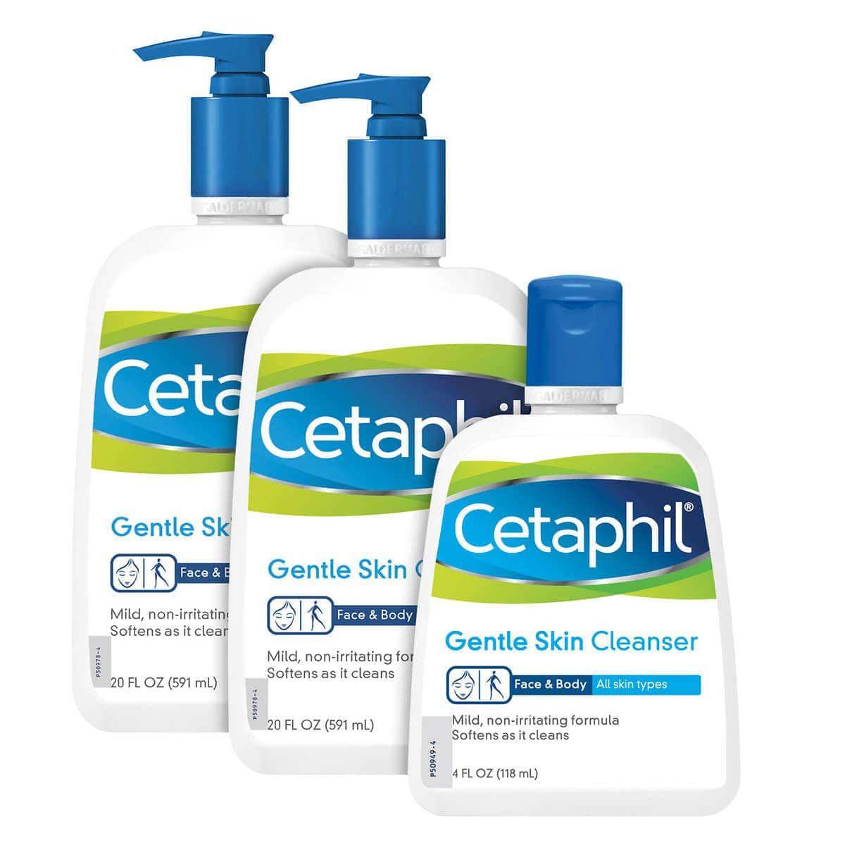 Sữa rửa mặt Cetaphil cho da nhạy cảm