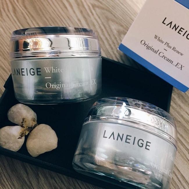 Laneige White Plus Renew Original Cream EX voi thiet ke tinh te