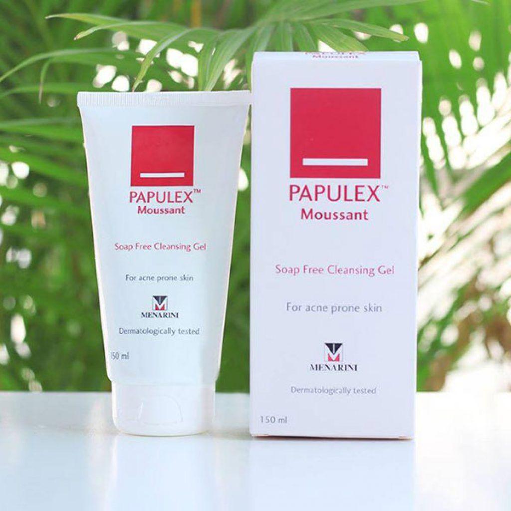 Sữa rửa mặt Papulex trị mụn có tốt không?