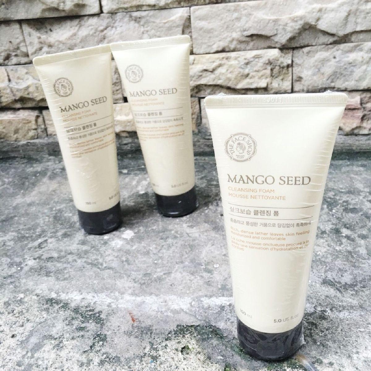 Sữa rửa mặt The Face Shop Mango Seed Cleansing Foam