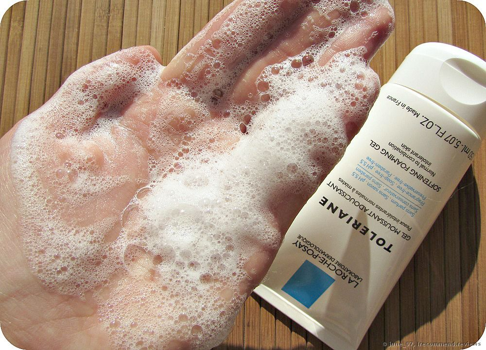 Sữa rửa mặt cho da dầu La Roche Posay Toleriane Softening Foaming Gel 1