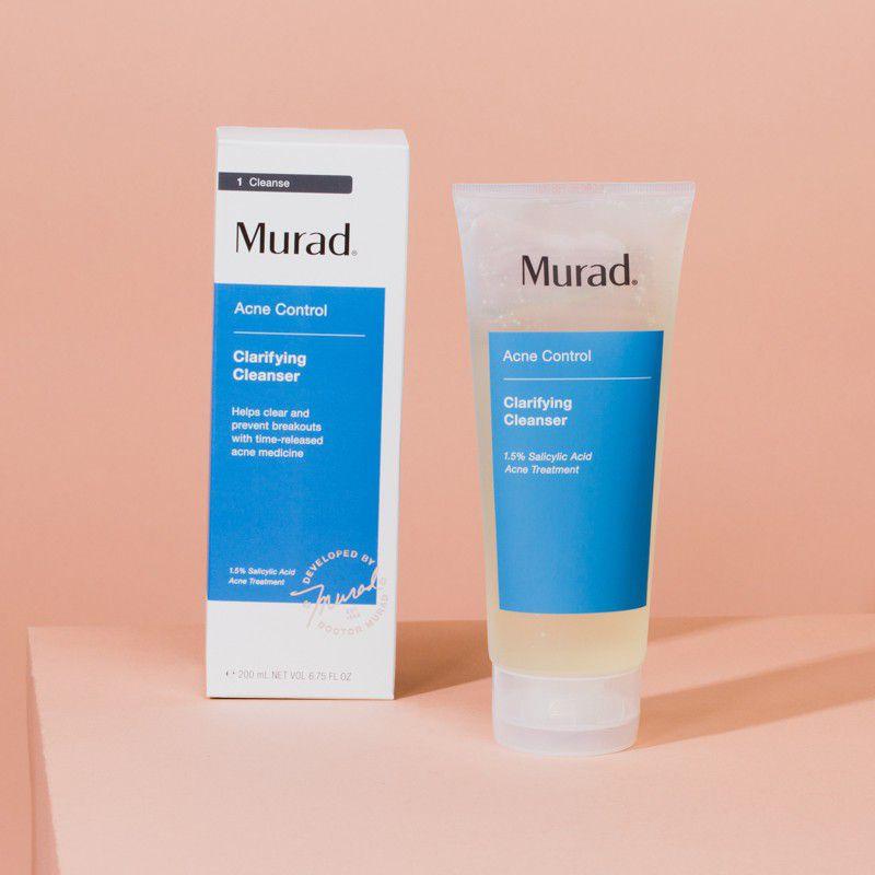 Sữa rửa mặt cho da nhạy cảm và da mụn Murad Clarifying Cleanser Acne