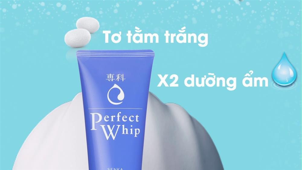 Sữa rửa mặt Senka Perfect Whip chiết xuất tơ tằm có tốt không?