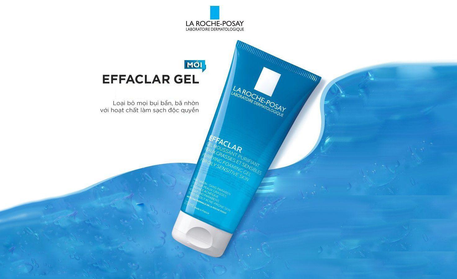 Sữa rửa mặt La Roche Posay Effaclar Purifying Foaming Gel có tốt không?
