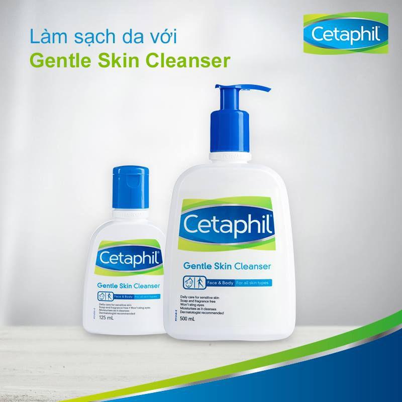 sữa rửa mặt cho da dầu cetaphil gentle skin cleanser
