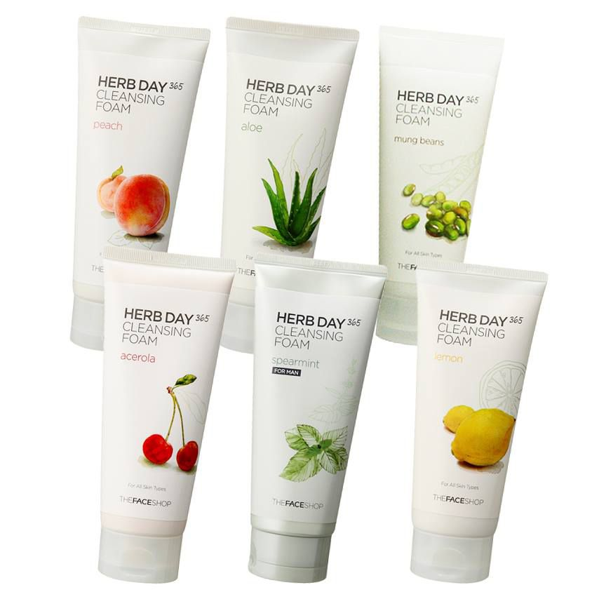 Sữa rửa mặt The Face Shop All's – Herbday The Face Shop