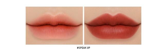 Chất son và màu son của Speak Up sẽ không làm bạn thất vọng