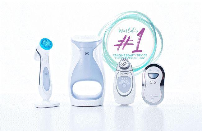 Nuskin là thương hiệu nổi tiếng với các thiết bị làm đẹp
