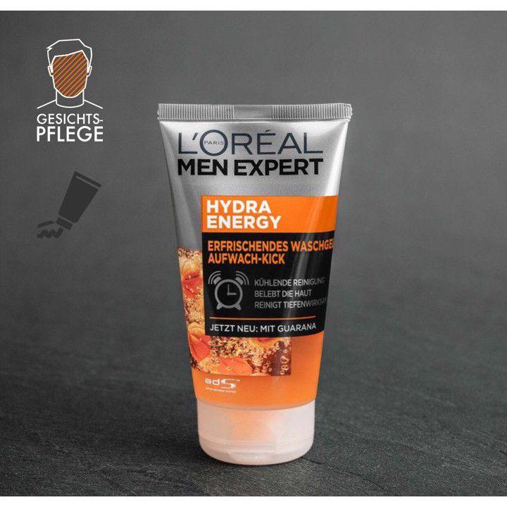 Sữa rửa mặt cho nam L'oreal Men Expert Hydra Energy